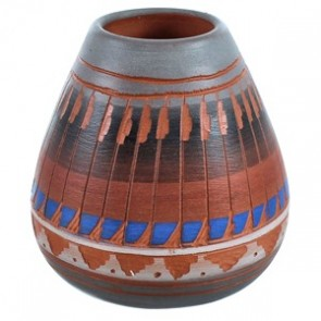 Hand Crafted Navajo Pot ZX116625