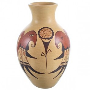 Hopi Hand Crafted Pottery By Artist Colleen Poleatila RX117958