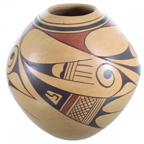 Hopi Indian Hand Crafted Pottery By Artist Colleen Poleatila RX117960