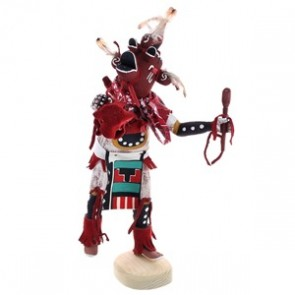 Navajo Indian Handcrafted Mud Head Kachina Doll RX118763