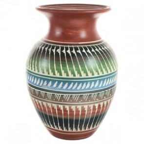 Hand Crafted Native American Pottery By Artist Bernice Watchman Lee BX118836