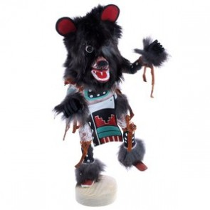 Bear Kachina Doll Hand Crafted By Navajo Artist G. Largo BX119863